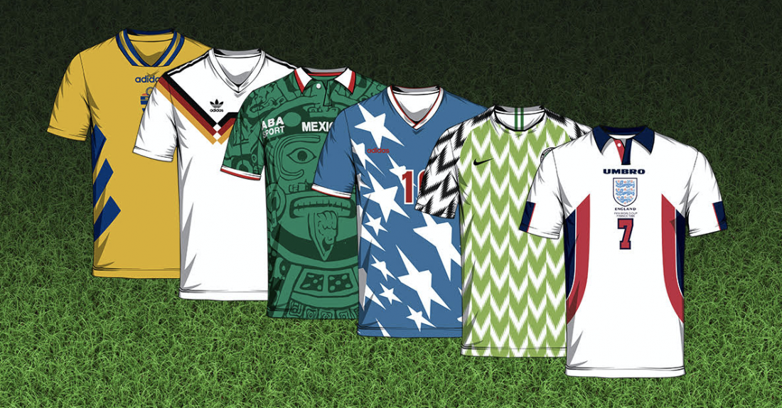 78d94e1bbe4 The 50 best World Cup shirts by The Idle Man